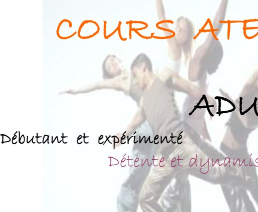 cours adultes danse contemporaine
